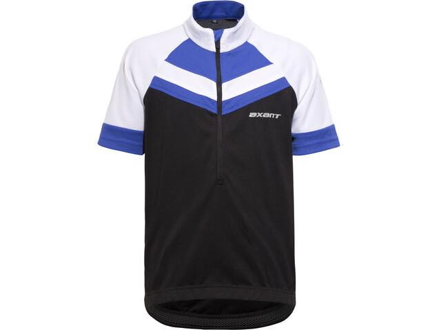 axant Elite Bike Jersey Kids blue/black